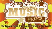Jersey Street Music Festival Poster Top