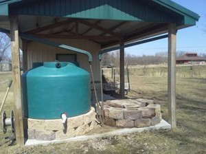 Second Water Tank for Horicon Community Garden