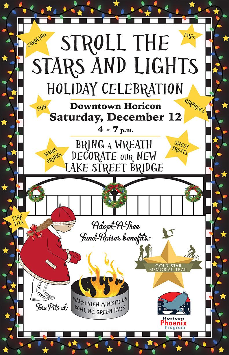 Stroll the Stars & Lights, Downtown Horicon - Horicon